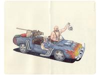 Post Apocalyptic Tachanka (War Vehicle) 😆