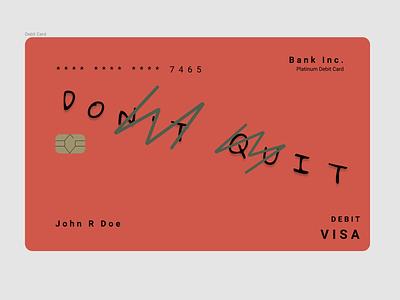 Debit Card Design 1