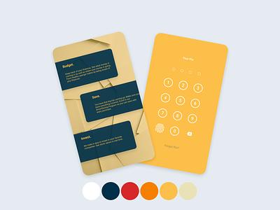 Personal Banking App Redesign budgeting saving design bank finances bankingapp banking