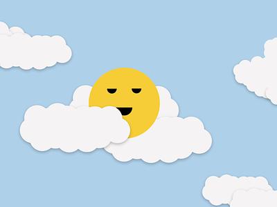 More Clouds sky doodle art figma clouds