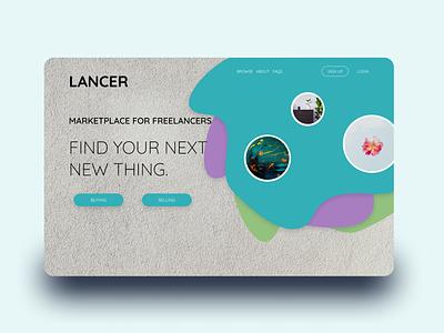 Landing Page for Freelancer Website figma freelancer website design dailyui