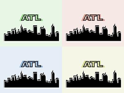 Love My City art atl cityscape atlanta