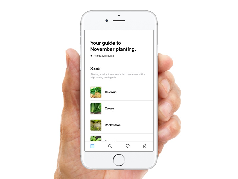 Plant App by Will Coverdale on Dribbble