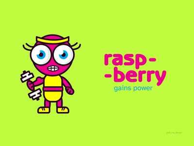 Raspberry Illustration trend design packaging illustration branding graphic design