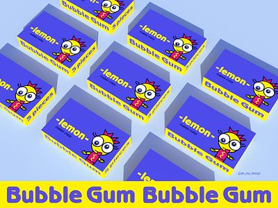 Lemon packaging character vector packaging graphic design illustration branding design