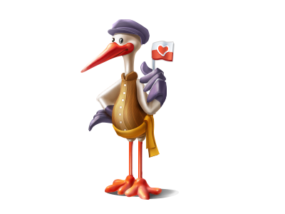 Polish Stork stork poland