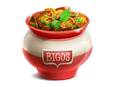 Bigos food bogos poland