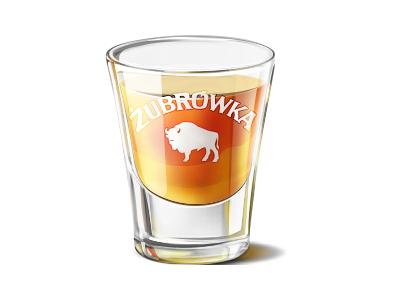 Zubrowka zubrowka glass alcohol poland