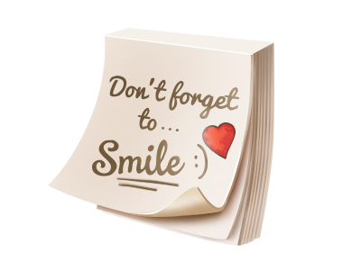 Don't forget to Smile smile