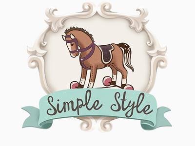 logo horse fashion baby logo horse