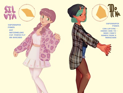 Choose a character!! grunge pastel colors aesthetics illustration digitalart digital illustration animeart animestyle