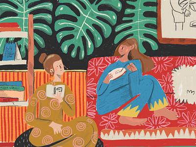 Matisse Study friends of type women friendship quarantine friends color matisse