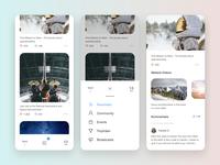 Social Media App Concept