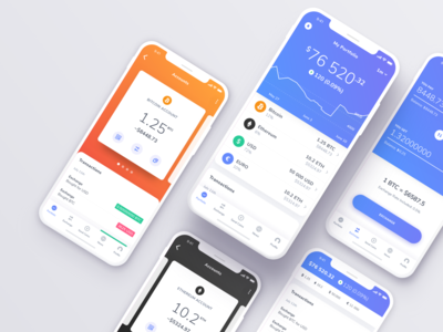 Cryptocurrency Trading Platform for iOS