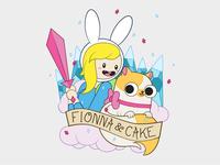Fionna & Cake Tattoo