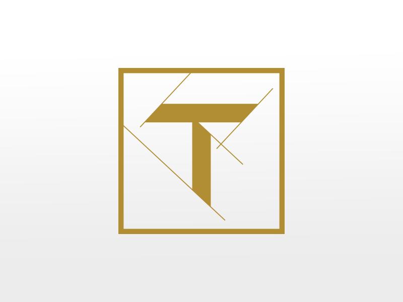 Tradecraft Construction design letter type custom type logo