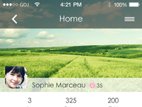 Chat homepage
