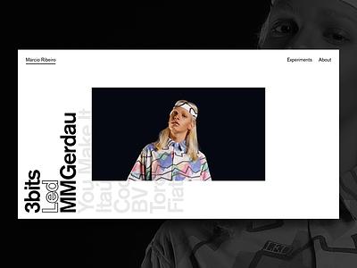 Portfolio is live! art direction brand fashion homepage product design branding designer design portfolio