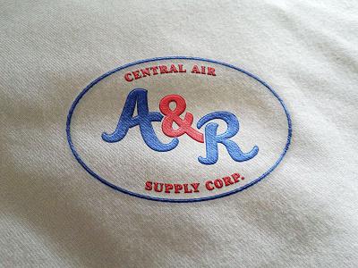 A&R Logo oval monogram classic logo