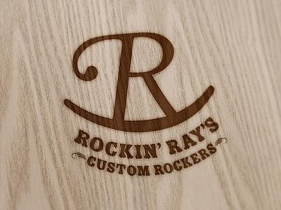 Rockin' Ray's Logo typography custom letter logo