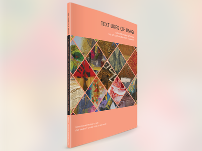 Text/ures of Iraq - Cover iraq museum exhibition catalog book