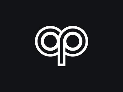 cp typography monogram letter symbol mark logotype logomark logo identity