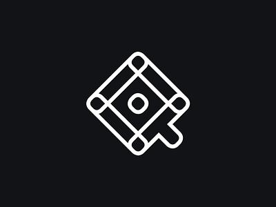 Q letter abstract logotype typography symbol logomark identity mark logo