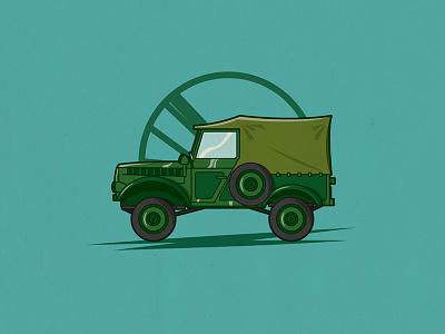 Aro M461 war oldschool old jeep green car aro