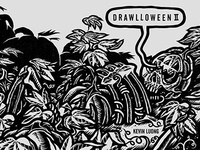 Drawlloween II Zine - Cover Spread