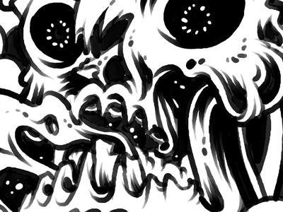 Soda Jerk - Sketch kevin luong skull suds sketch