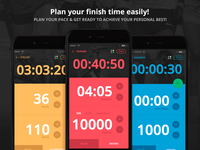 Rubis PRO - The Definitive Training Journal + Plan Your Race
