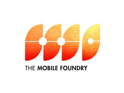 The Mobile Foundry - Identity logo design identity graphic design