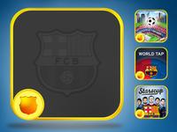 Official FC Barcelona Apps Skin