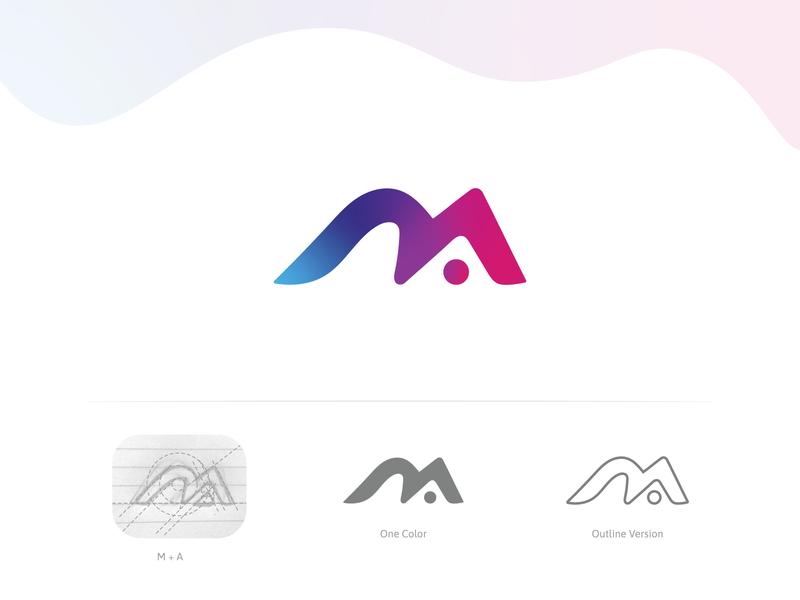 MA Logo Design design logo design logo