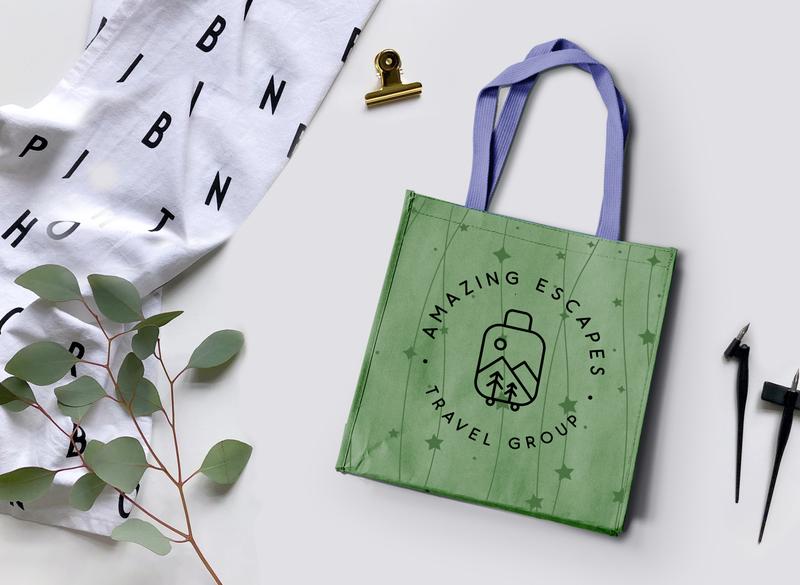 Bag Mockup branding design illustration creative branding agency brand logodesign brand identity brand design minimal clean bag