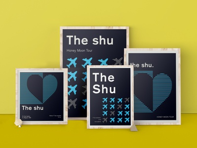 Poster Design typography vector logo branding illustration