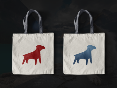 Canine eco-bag gradient digital dribbble black logo gorce icon typogaphy minimalist logo minimal mockup dogs dog logo logo design design branding logo
