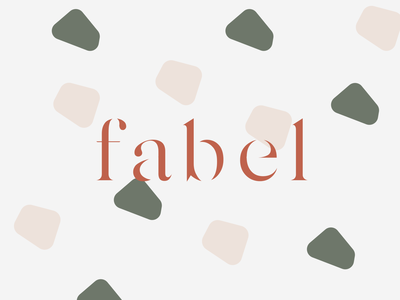 Fabel concept logo polish logo typogaphy minimal pattern icon minimalist logo modern design logo design branding