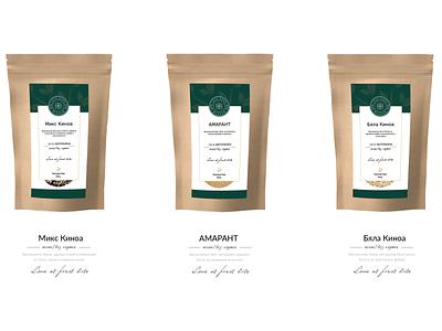 Love Good Food- Packaging Design digital branding elegant graphicdesign packaging design package design packaging modern clean