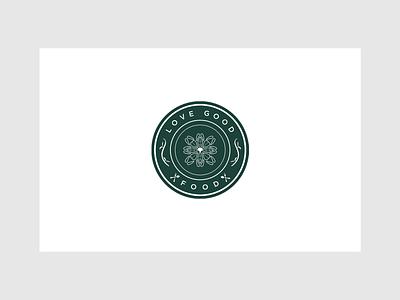 Love Good Food Logo Design logodesign modern graphicdesign logo elegant branding design clean
