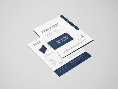 Echandia - Company Flyer flyerdesign flyer corporate design clean branding modern graphicdesign