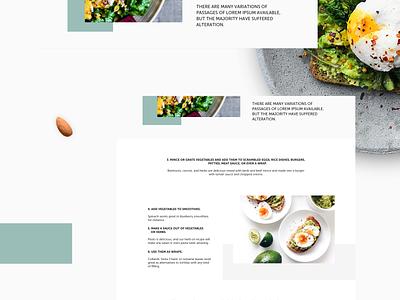 Blog Post Layout blog design blog post blog websitedesign graphicdesign modern design clean