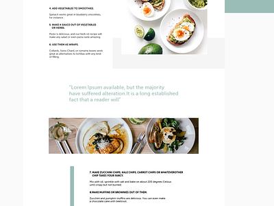 Blog Post Layout blog design blog post blog modern design clean websitedesign graphicdesign