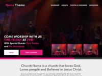 Church Theme Concept