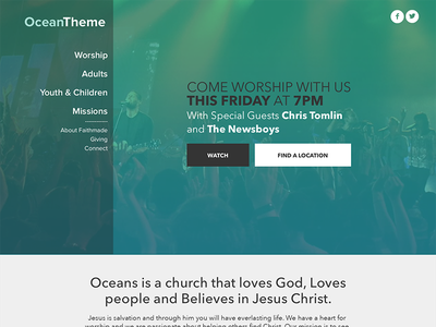Another Church Theme Concept themes ministry church themes