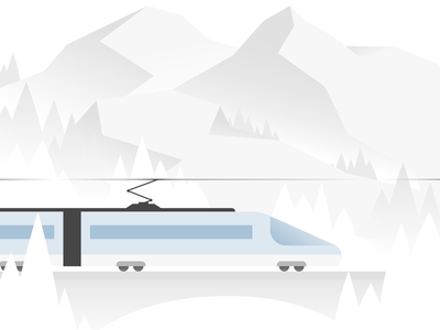 Illustration of a train |  MEANS OF LOCOMOTION illustrationartist vector illustration illustration digital illustrator design illustration design ui illustration illustrator art visualdesigner adobeillustration adobeillustator