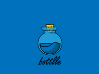 bottlle blue design blue cute flat illustrator illustration design colors adobe illustrator adobe