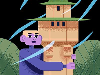 Illustration for Skillbox vector illustrator illustration