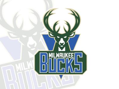 Milwaukee Bucks new logo rebrand fix logo icon design nba identity brand sports bucks milwaukee branding basketball rebranding