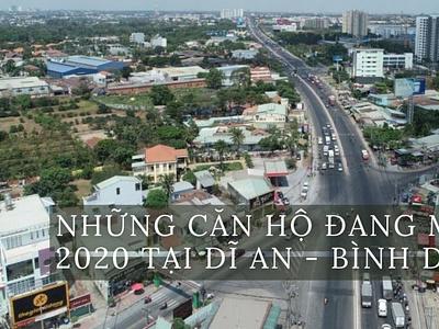 Nhung can ho dang mo ban 2020 tai Di An   Binh Duong